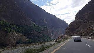 Amazing Gilgit to Hunza Karakoram Road In Gilgit Baltistan | Tourism In Pakistan.