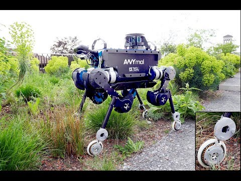 Keep Rollin' – Whole-Body Motion Control and Planning for Wheeled Quadrupedal Robots