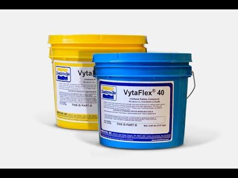 Полиуретан для форм VITA FLEX 40. 645 р/кг. Как сделать форму из полиуретана для камня.
