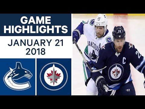 NHL game in 4 minutes: Canucks vs. Jets