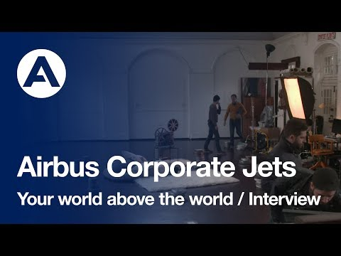 Airbus Corporate Jets, Your World Above The World: The cloud maker