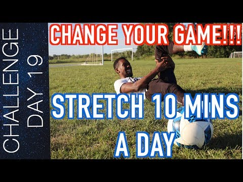 STRETCHING ROUTINE FOR ATHLETES INJURY PREVENTION and RECOVERY | DAY 19