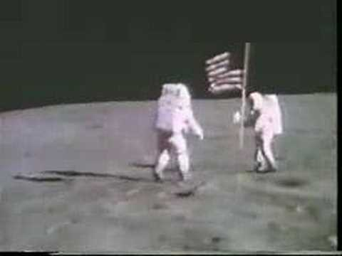 John Young and Charlie Duke on the moon