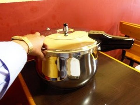 Como cocinar papa al vapor en olla a presi n de acero for Cocinar zanahorias al vapor