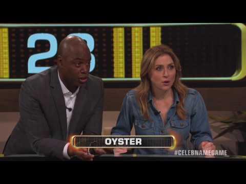 Sasha Alexander & Kevin Frazier 20K Win | Celebrity Name Game