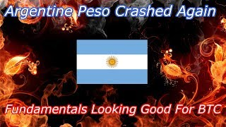 Argentine Peso Crashed Again! What Does This Mean For Bitcoin? Crypto Technical Analysis