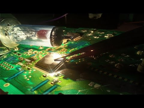 How to remove micro components (SMD) without hot air gun