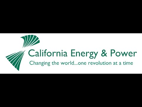 The California Energy & Power Bird Safe Vertical Axis Wind Turbine