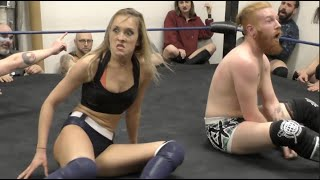 Ava Everett vs. DangerKid - Limitless Wrestling (Intergender, Mixed, Beyond, CZW)