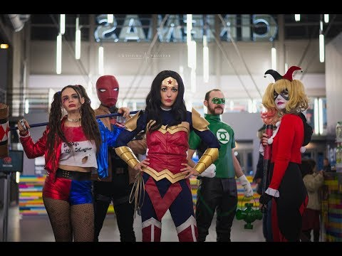 LES SUPERS-HÉROS S'INVITENT AU CINÉMA - Cosplayer de France - CGR Troyes