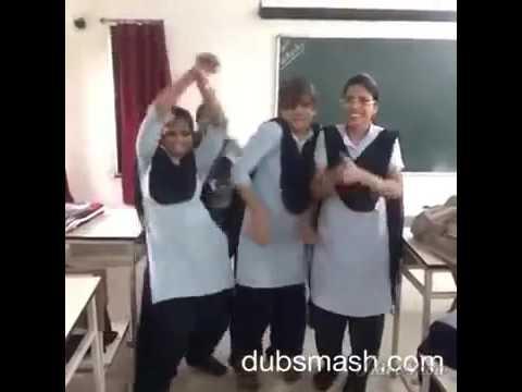Funny school girls video