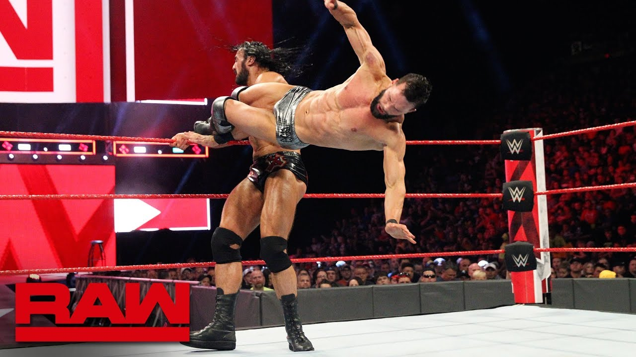 Finn Bálor vs. Drew McIntyre: Raw, July 23, 2018