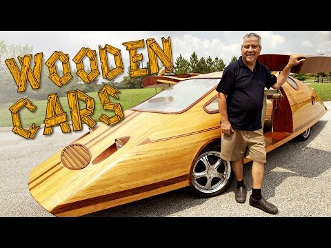 Check Out This Guy's Amazing Wooden Cars