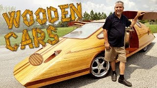 Wooden Cars | Man Creates Tree-mendous Motors thumbnail