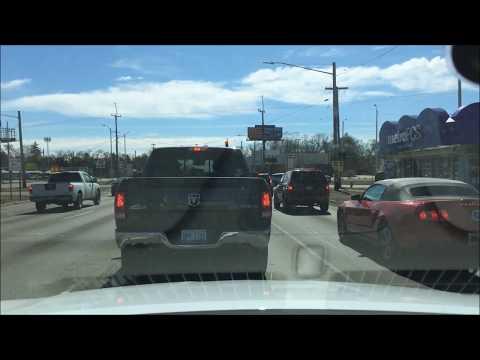 Kör på Telegraph road i Detroit, Michigan