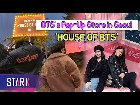 "BTS's Pop-Up Store in Seoul ""HOUSE OF BTS""(방탄소년단 팝업스토어 방문기)"