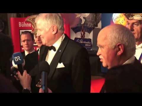 Horst Seehofer im Interview zur Verleihung Karl-Valentin-Orden