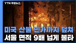 미국 산불 민가까지 덮쳐...85곳 산불 서울 면적 9…
