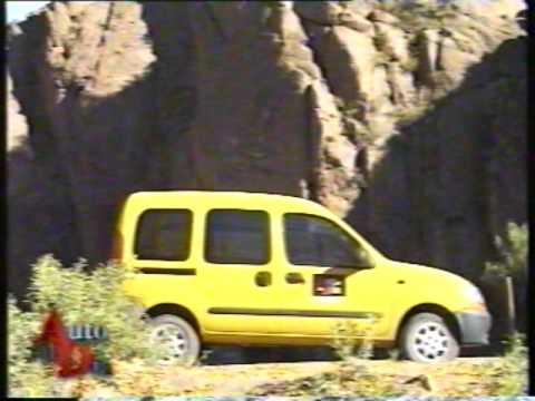 RENAULT KANGOO RN FULL 1.9 DIESEL (1999) TEST AUTO AL DÍA.