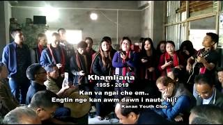 Kanan youth club..pu khamliana, Nation awardee. vuina a an zai (He kan khualzinna ram)
