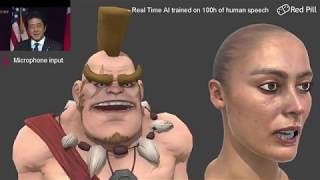 Voice to Facial Engine - Red Pill Technical Demo