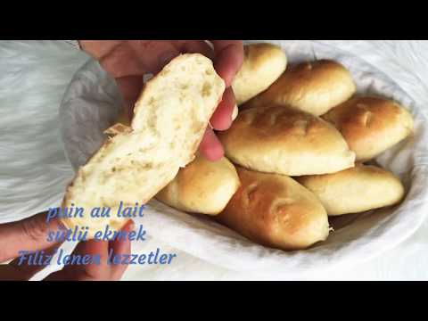 pain au lait recette facile  / sutlu ekmek kolay tarif 🥖