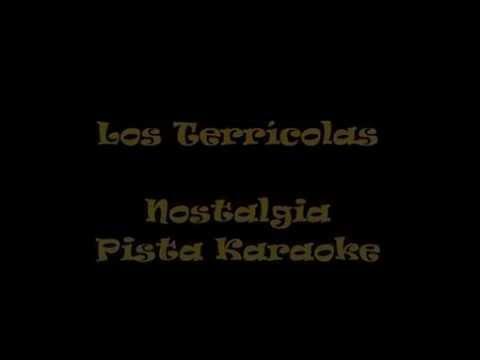 Los Terrícolas   Nostalgia  Pista Karaoke