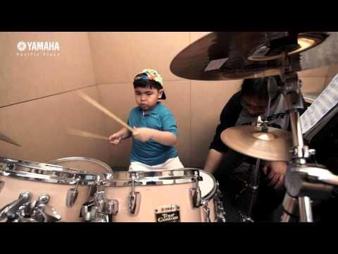 Kelas Drum Yamaha Music @ Pacific Place