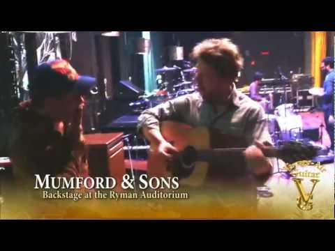 Mumford & Sons check out Voyage-Air