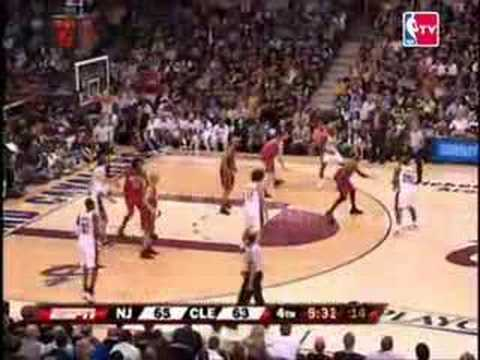 06-07 Playoffs Game 1 - Cavs 81, Nets 77