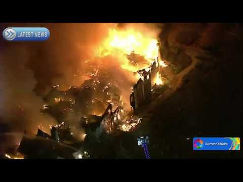 Massive Fire running away at Pennsylvania Senior Living area : Raw - Current Affairs News
