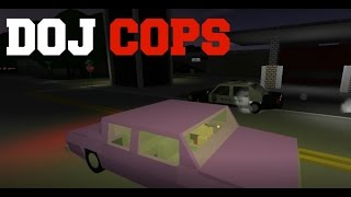 ROBLOX DOJ Cops #4 - Drive-By Shootings! (Criminal)