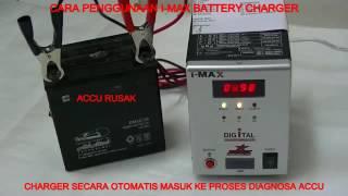 cara mendiaknosa Kondisi aki pada charger BRT I-MAX for more produc...