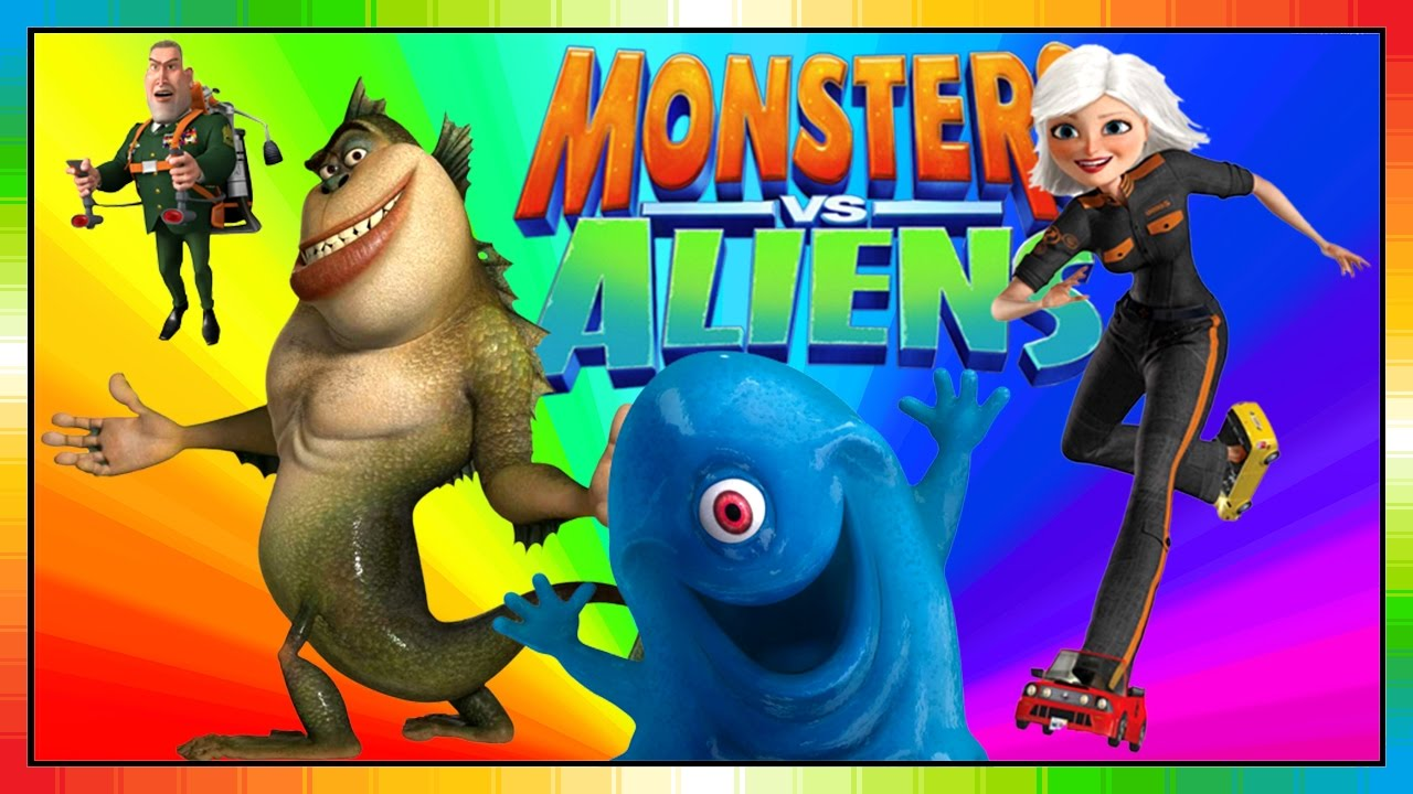 aliens vs monster english kids movie monsters and