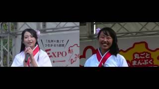 左画面→中村葵カメラ 右画面→晴野珠喜カメラ.