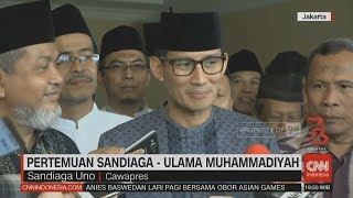 Download Video Pertemuan Sandiaga - Ulama Muhammadiyah MP3 3GP MP4