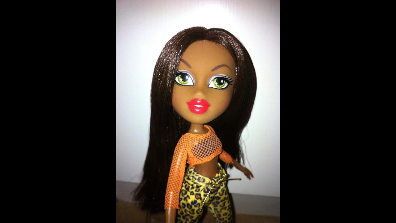 Bratz hello my name is sasha doll review read desc youtube Bratz fashion look and style doll