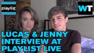 Lucas Cruikshank and Jenny Veal Interview | Playlist Live 2014