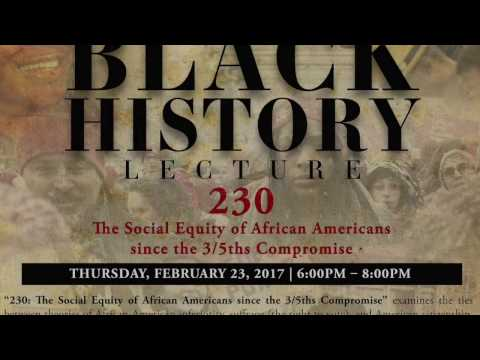 Black History Lecture