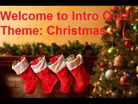 Music Intro Quiz 38: Christmas