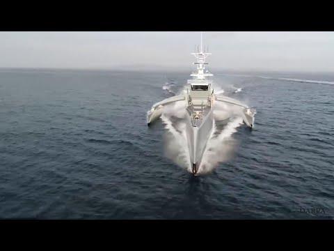 La nave da guerra drone della marina Usa: si guida da sola e dà la caccia ai sottomarini