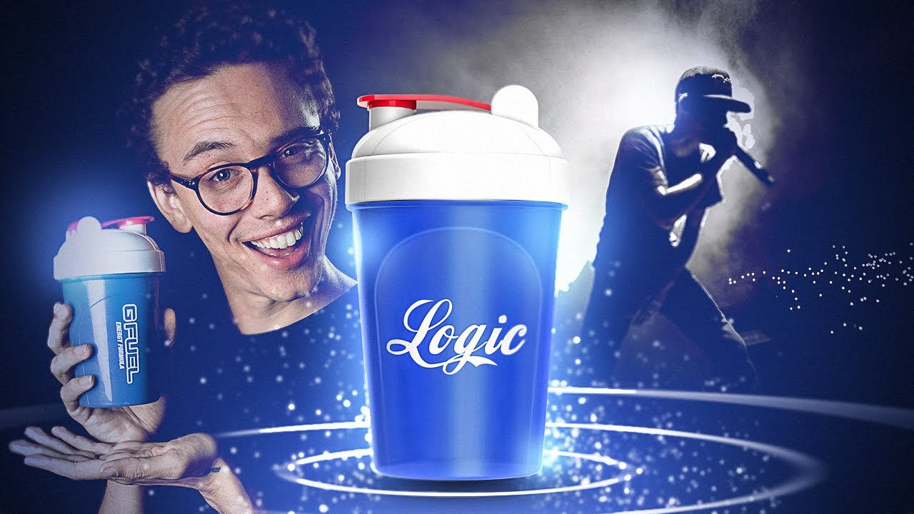 exclusive logic shaker cup g fuel youtube