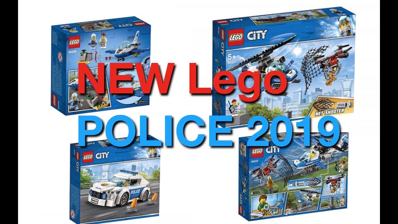 new official 2019 lego city police sets more youtube. Black Bedroom Furniture Sets. Home Design Ideas