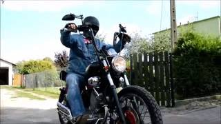 Repeat youtube video Custom Bobber - Yamaha Virago 535 (WRANGLER)