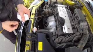 Как проверить уровень масла в двигателе автомобиля
