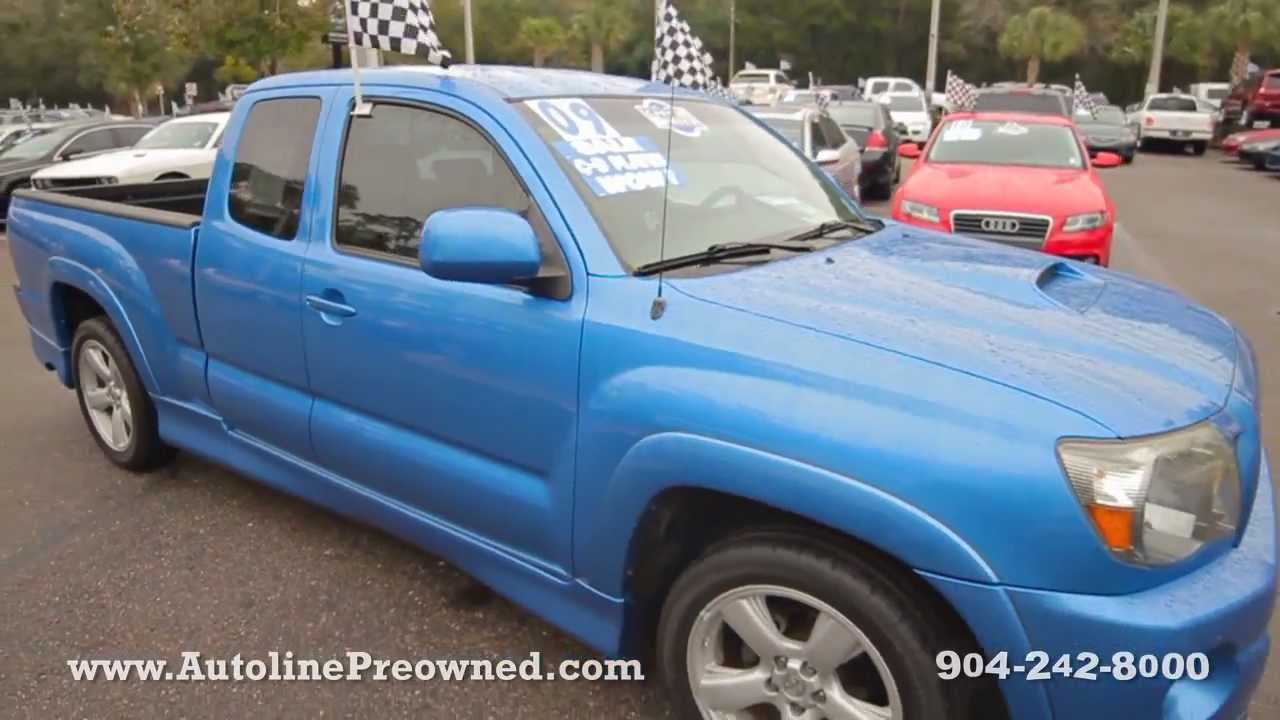 Toyota Tacoma X Runner For Sale >> Autoline S 2009 Toyota Tacoma X Runner Walk Around Review Test Drive