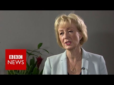 Andrea Leadsom on CV and 'honourable' campaign - BBC News