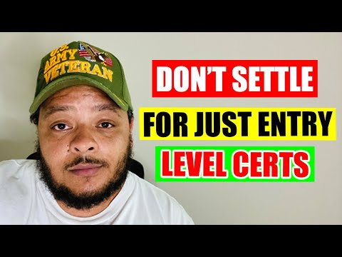 Don't Settle for Just Entry-Level I.T. Certifications