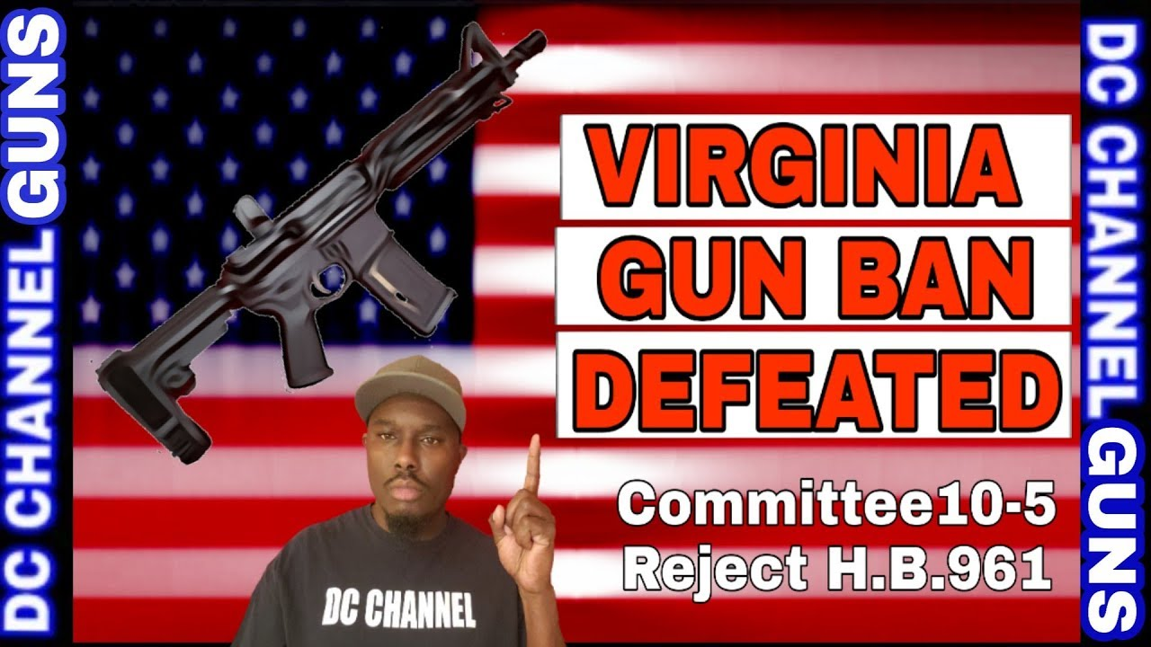 Virginia Senate Rejects Billionaire Bloomberg H.B.961 Agenda | GUNS
