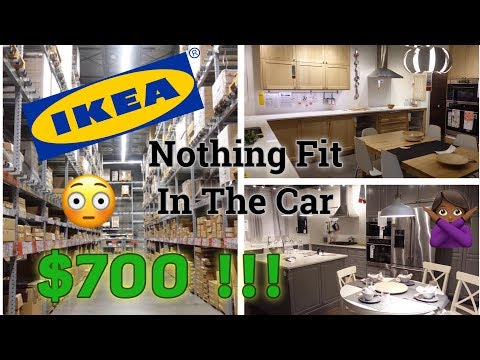 $700 IKEA SHOPPING SPREE! | BTW NOTHING FIT IN THE CAR